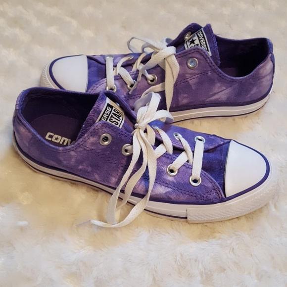 8caa3bb788e0f3 Converse Shoes - Converse Chuck Taylor All Star purple tie-dye low